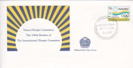 Nauru 1994 Olympic Committee FDC - Nauru
