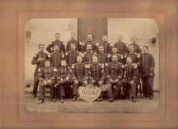 Photo Photographie 5 E Section Administrative 1887 Officiers Orléans 45 Loiret - War, Military
