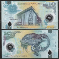PAPUA NUOVA GUINEA  : Banconota 10 Kina - PNew - FDS - Papua Nuova Guinea