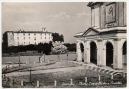 Somaglia (Milano). Chiesa Parrocchiale E Castello. - Milano (Milan)