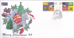 Nauru 1998 Christmas FDC - Nauru