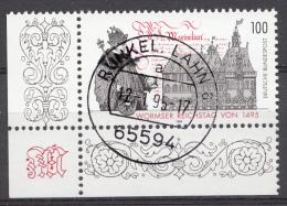 Bund 1995  Mi.nr.:1773  Gestempelt / Oblitérés / Used - [7] République Fédérale