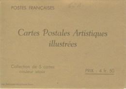 S�rie PARIS couleur s�pia avec R�publique Fran�aise NEUVE TTB avec pochette N� STORCH : COMF2S4