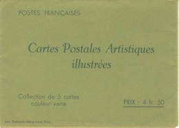 S�rie PARIS couleur verte avec R�publique Fran�aise NEUVE TTB avec pochette N� STORCH : COMF2S6