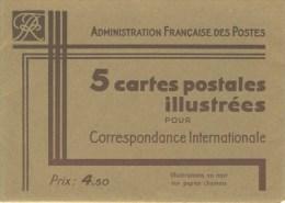S�rie PARIS couleur noirsur carton chamois avec R�publique Fran�aise NEUVE TTB avec pochette N� STORCH : COME2S1