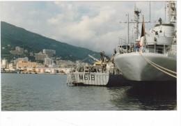 lot 4 photo originale batiment militaire M 618 Mytho a bastia 1984