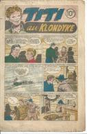 """TITI N° 3 -  """" TITI AU KLONDYKE """" -    1946 - Piccoli Formati"""
