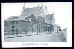 Cpa Belgique Blankenberghe La Gare   AO56 - Blankenberge