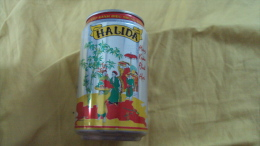Vietnam Viet Nam Halida New Yera Of Pig 2007 Empty 330ml Beer Can / Opened At Bottom - Cannettes
