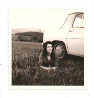 Voiture -Renault 8 - Photo Format 8.8x 8.8-(A.3601) - Automobiles