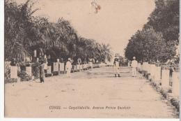 CONGO BELGE COQUILLATVILLE AVENUE PRINCE BAUDUIN - Congo Belge - Autres