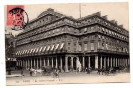CP, 75, PARIS, Le Théâtre Français, Voyagé En 1907 - Other Monuments