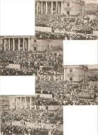 Bruxelles : Historische Stoet  -- Cortège Historique ---- 8 Kaarten ---- 1906 - Festivals, Events