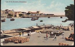 CPA - (Brésil) Pernambouc - Pernamouco - Caes 22 De Novembro (posted On The High Seas) - Recife