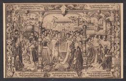 """28867/ CINQUANTENAIRE, Tapisserie De Bruxelles, """"La Légende De N.D. Du Sablon"""", 2 Scans - Musea"""