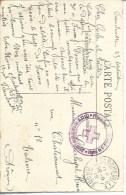 """69 Francheville FM """"S.S.B.M.*hopital Du Grand Séminaire Francheville"""" (HA 4) - Poststempel (Briefe)"""
