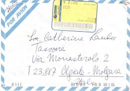 25-1-2002 $2.25 DA ARGENTINA X ITALIA - Affrancature Meccaniche Rosse (EMA)