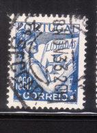 Portugal 1931-38 Portugal Holding Volume Of Lusiads 1.60e Used - 1910-... República