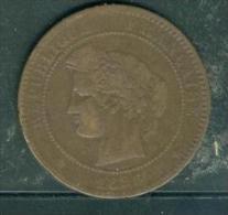IIIème République, 10 Centimes Cérès 1896 A - Pia7803 - France