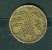ALLEMAGNE 5 Reichspfennig  - pia7810