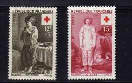 """France (1956)  - """"Croix-Rouge"""" Neufs** - France"""