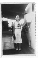 photographie ,14.5 x 9 , BATEAU , 1934