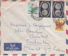 Belgium Congo Cover, Stamps Flora, Flowers, Coins  (Z-7173) - Belgian Congo