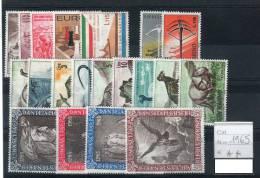 SAN MARINO / SAN MARIN 1965-- ANNATA COMPLETA -- YEARS COMPLETE ** MNH - Full Years
