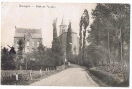 Baelegem Kerk En Pastorij église Goede Staat - Oosterzele