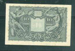 ITALY 10 LIRE - Laurabil 1508 - [ 1] …-1946 : Regno