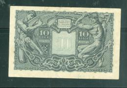 ITALY 10 LIRE - Laurabil 1508 - [ 1] …-1946 : Kingdom