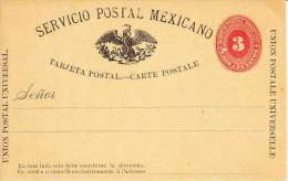 MEXIQUE- ENTIER POSTAL-NON CIRCULE-TTB - Mexique