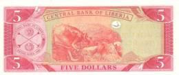 LIBERIA P. 26a 5 D 2003 UNC - Liberia