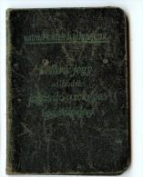 Carte D'identité Hongroise 1939-1945 - 1939-45