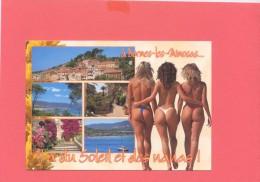 83- BORMES LES MIMOSAS  Y A Du Soleil Et Des Nanas - Bormes-les-Mimosas