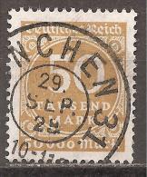 Deutsches Reich 1923 - Michel 275 O - Usados
