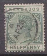 Barbados, 1882, SG 89, Used - Barbados (...-1966)