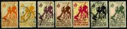 A.o.F.  Y&T N°7.11.13.14.16.19.20..oblitérés - A.O.F. (1934-1959)