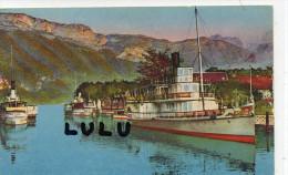 DEPT 74 ; Lac D Annecy ,le Port Et Le Mont Veyrier - Annecy