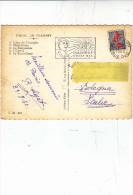 FRANCIA  1960 -  Annullo Meccanico - Parachutiste D'outre -mer - Paracadutismo