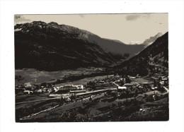 Aosta -x- La Thuile -  Panorama E Sfondo Grand´Assaly    N.viaggiata - Altre Città