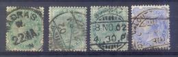Indie - 1892 - 1899 - Yv. 47 + 53 + 56   - Gestempeld - Indien