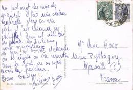 10889. Postal MODICA (Sicilia) 1959. Piazza Municipio - 1946-.. République