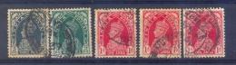 Indie - 1937 - Yv. 143 + 145 + 146 - Gestempeld - Indien
