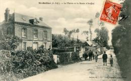76   SAINT HELLIER  LA MAIRIE ET LA ROUTE D'AUFFAY - Other Municipalities