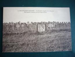 4 Ablain Saint Nazaire Le Cimetière Anglais De La Sucrerie - Cementerios De Los Caídos De Guerra