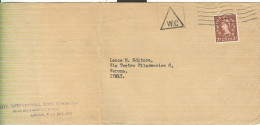 POSTAGE REVENUE, 2 D,LONDON, - 1952-.... (Elisabetta II)
