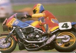 CALENDARIO DEL AÑO 1989 DE UN MOTO (CALENDRIER-CALENDAR) MOTO-MOTORBIKE - Calendari