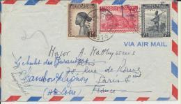 Timbres  Belges  Enveloppe - Belgian Congo