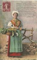 32 - CPA - COSTUME DE SAVOIE - La Savoyarde - 1930 - (couleur) - Costumes